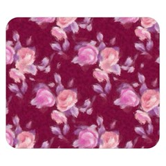 Vintage Roses Double Sided Flano Blanket (Small)