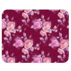 Vintage Roses Double Sided Flano Blanket (Medium)