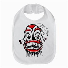 Dark Clown Drawing Bib