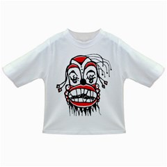 Dark Clown Drawing Infant/Toddler T-Shirts