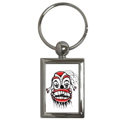 Dark Clown Drawing Key Chains (Rectangle)