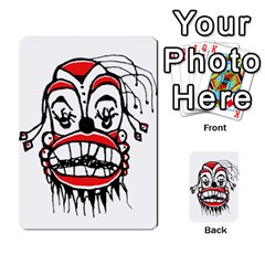Dark Clown Drawing Multi-purpose Cards (Rectangle)