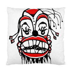 Dark Clown Drawing Standard Cushion Cases (Two Sides)