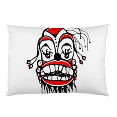 Dark Clown Drawing Pillow Cases (two Sides)