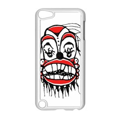 Dark Clown Drawing Apple iPod Touch 5 Case (White)