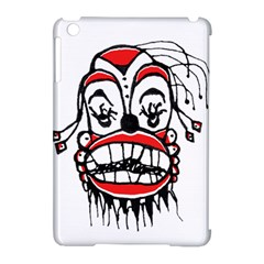 Dark Clown Drawing Apple iPad Mini Hardshell Case (Compatible with Smart Cover)