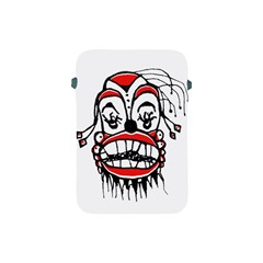 Dark Clown Drawing Apple iPad Mini Protective Soft Cases