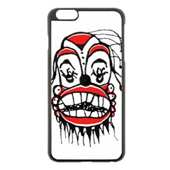 Dark Clown Drawing Apple iPhone 6 Plus/6S Plus Black Enamel Case