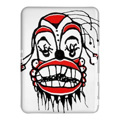 Dark Clown Drawing Samsung Galaxy Tab 4 (10.1 ) Hardshell Case