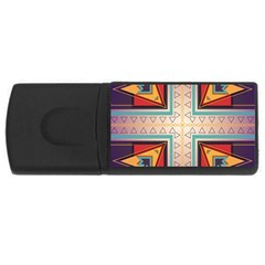 Cross and other shapes USB Flash Drive Rectangular (4 GB)