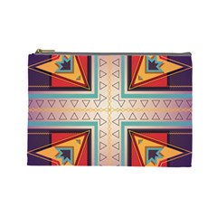 Cross and other shapes Cosmetic Bag (Large)