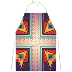 Cross and other shapes Full Print Apron