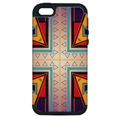 Cross and other shapes Apple iPhone 5 Hardshell Case (PC+Silicone)