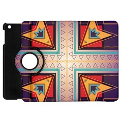 Cross and other shapes Apple iPad Mini Flip 360 Case