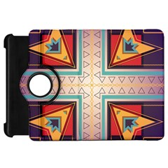 Cross and other shapes Kindle Fire HD Flip 360 Case