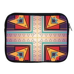 Cross and other shapes Apple iPad 2/3/4 Zipper Case