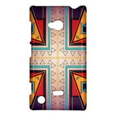 Cross and other shapes Nokia Lumia 720 Hardshell Case