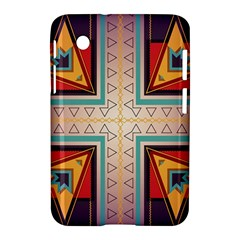 Cross and other shapes Samsung Galaxy Tab 2 (7 ) P3100 Hardshell Case