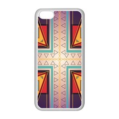 Cross and other shapes Apple iPhone 5C Seamless Case (White)