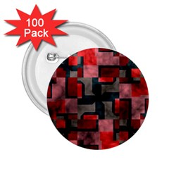 Textured shapes 2.25  Button (100 pack)