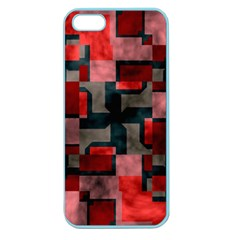 Textured shapes Apple Seamless iPhone 5 Case (Color)