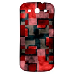 Textured shapes Samsung Galaxy S3 S III Classic Hardshell Back Case