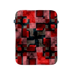Textured shapes Apple iPad 2/3/4 Protective Soft Case