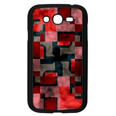Textured shapes Samsung Galaxy Grand DUOS I9082 Case (Black)