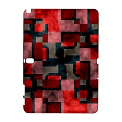 Textured shapes Samsung Galaxy Note 10.1 (P600) Hardshell Case