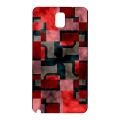 Textured shapes Samsung Galaxy Note 3 N9005 Hardshell Back Case