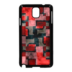 Textured shapes Samsung Galaxy Note 3 Neo Hardshell Case