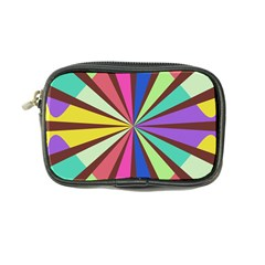 Rays in retro colors Coin Purse
