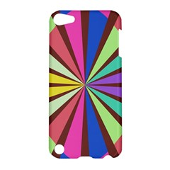Rays in retro colors Apple iPod Touch 5 Hardshell Case