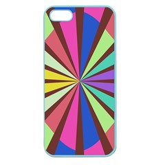 Rays in retro colors Apple Seamless iPhone 5 Case (Color)