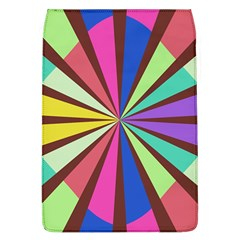 Rays in retro colors Removable Flap Cover (L)