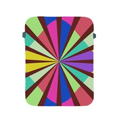 Rays in retro colors Apple iPad 2/3/4 Protective Soft Case