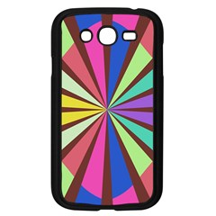 Rays in retro colors Samsung Galaxy Grand DUOS I9082 Case (Black)