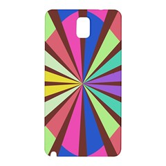 Rays in retro colors Samsung Galaxy Note 3 N9005 Hardshell Back Case