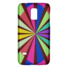 Rays in retro colorsSamsung Galaxy S5 Mini Hardshell Case