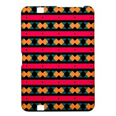 Rhombus and stripes pattern Kindle Fire HD 8.9  Hardshell Case