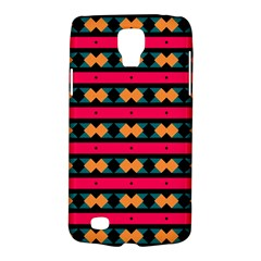 Rhombus and stripes pattern Samsung Galaxy S4 Active (I9295) Hardshell Case