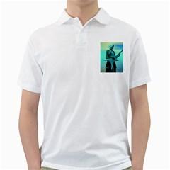 Sad Guitar Golf Shirts