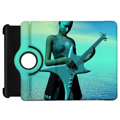 Sad Guitar Kindle Fire HD Flip 360 Case