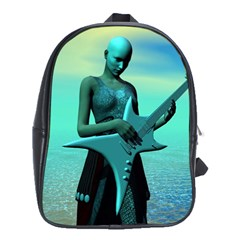 Sad Guitar School Bags (XL)