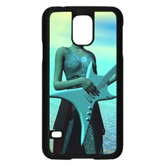 Sad Guitar Samsung Galaxy S5 Case (Black)