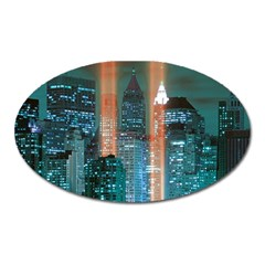 New York 2014 1206 Oval Magnet