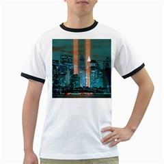 New York 2014 1206 Ringer T Shirts