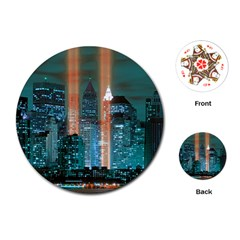 New York 2014 1206 Playing Cards (Round)