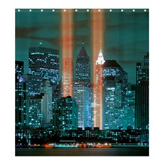 New York 2014 1206 Shower Curtain 66  x 72  (Large)