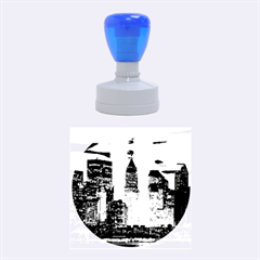 New York 2014 1206 Rubber Round Stamps (Medium)